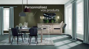 Personnaliser vos produits avec Plaisir Meubles à Cholet