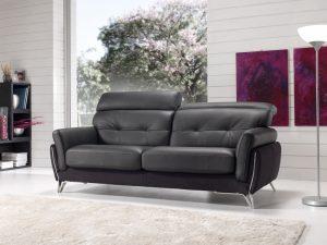 Canapé en cuir Aster