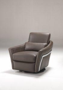 Canapé Kube - fauteuil bas marron