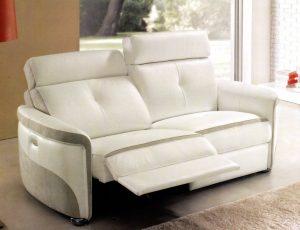 Canapé Violette blanc