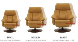Canapé salon Miami by Hukla - fauteuil au choix
