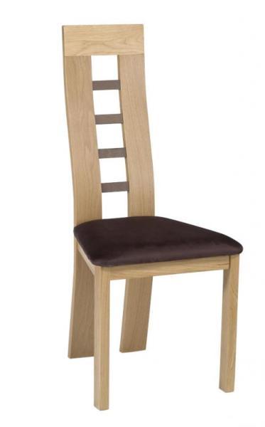 Chaise bois dossier échelle