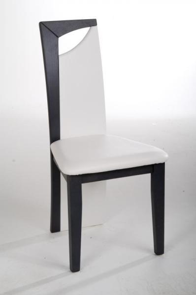 Chaise salle à manger noire dossier original