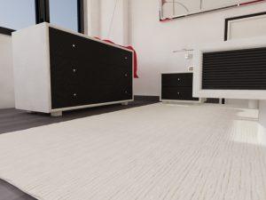 Chambre rotin moderne - meuble