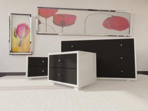Chambre rotin moderne - meuble de complément