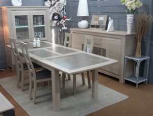 Meuble en magasin Collection Natura bois