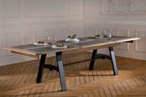Deauville Collection Atelier de Langres - table rallongée