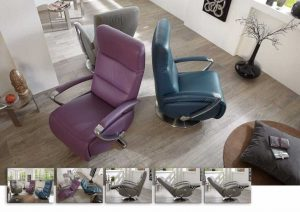 Fauteuil AMARILLO CUIR by HUKLA couleurs