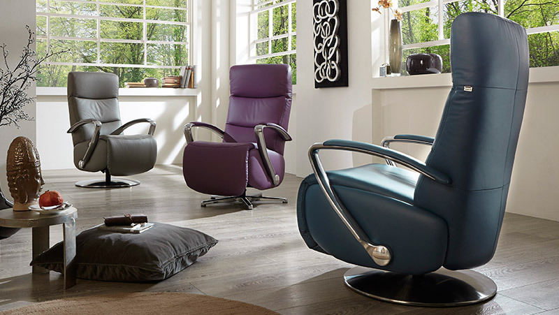 Fauteuil AMARILLO CUIR by HUKLA