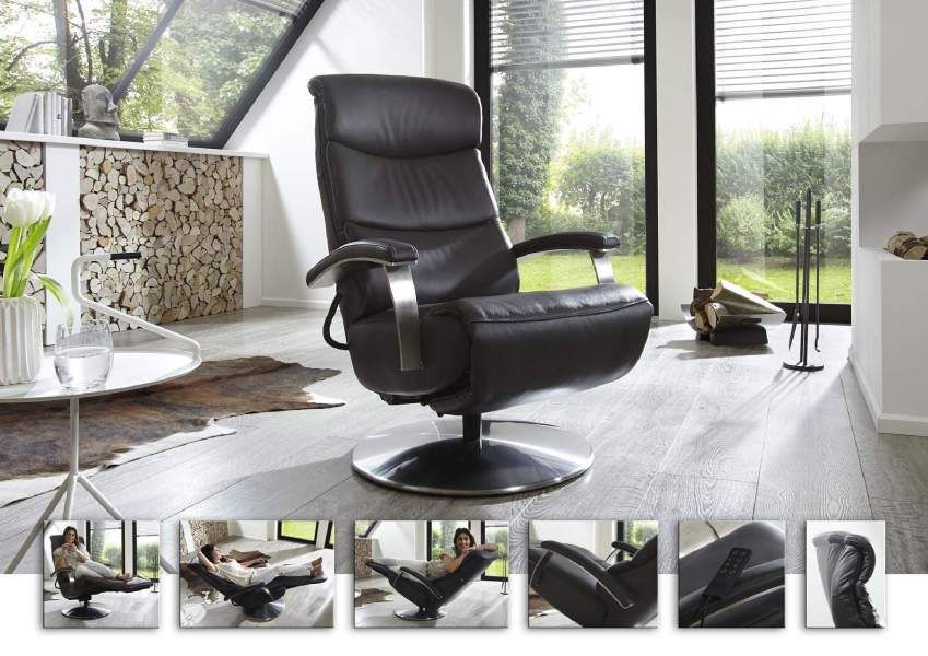 Fauteuil COSY RELAX by HUKLA noir