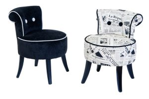 Fauteuil d'appoint duo