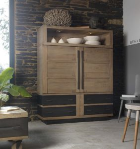 Le bahut 4 portes Factory collection Artcopi - enfilade