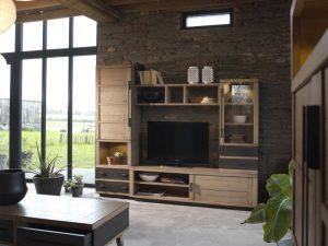 Le bahut 4 portes Factory collection Artcopi - meuble TV