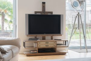 Meuble TV chevalet Manufacture collection Artcopi