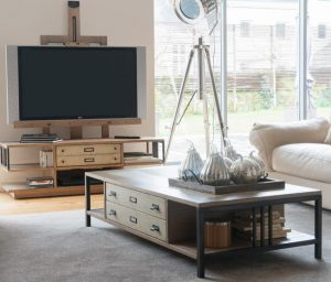 Meuble TV chevalet Manufacture collection Artcopi - table basse