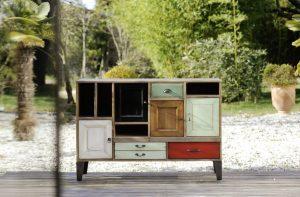 Meuble bas portes et tiroirs collection Artcopi