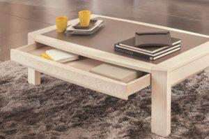 Table basse Ottawa collection Girardeau - tiroir