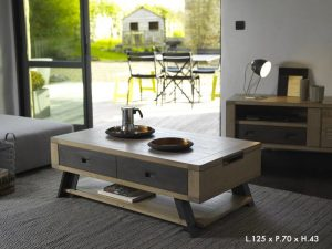 Table basse artisane Artcopi