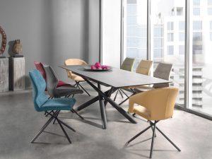Table céramique extensible