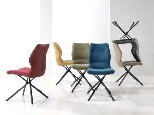 Table céramique extensible - chaise