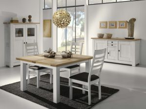 Ensemble de meuble salle à manger Whitney Collection Atelier de Langres - blanc